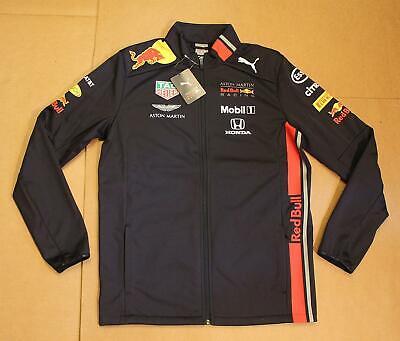 Red Bull Racing Team Men's PUMA Softshell Jacket MC7 Night Sky 762519-01 Medium