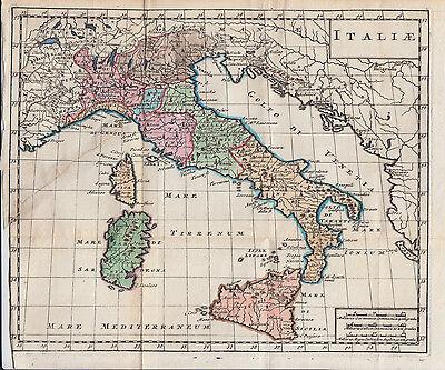 Cartina D Italia 1915.Antica Mappa Vatican