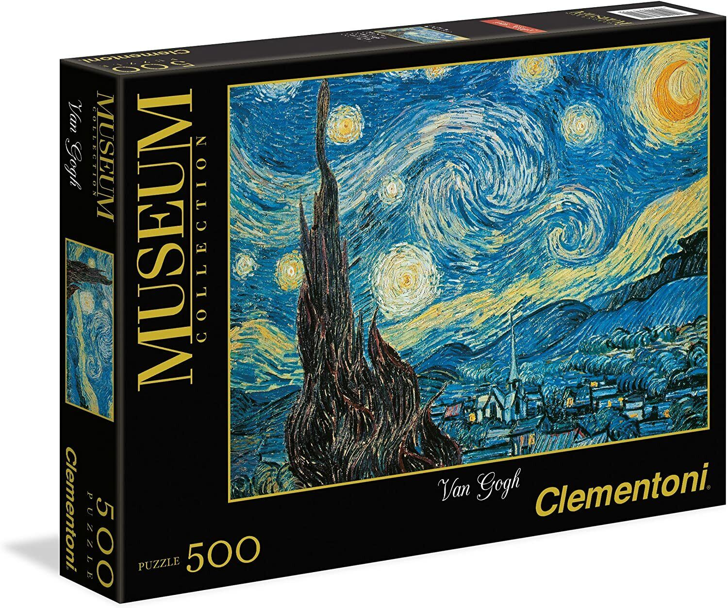 Clementoni Van Gogh Starry Night 500 Piece Jigsaw Puzzle  Museum Collection