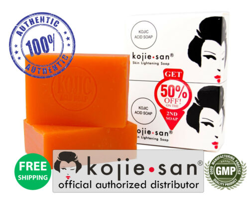 Original Kojie San Skin Lightening Soap, 135g bar-2 Pack - 2 Large Soaps! SAVE!❤