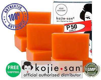 6 Bars Kojie San Kojic Acid Skin Whitening Soap - 65g - Bleaching #1 USA SELLER!