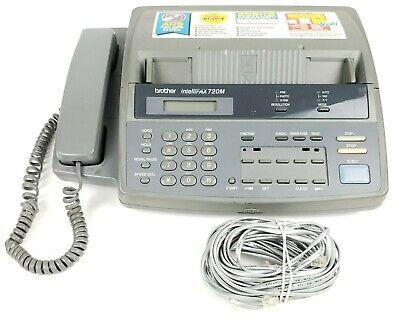 Vintage Brother Intellifax 720m Fax Machine