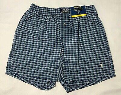 Polo Ralph Lauren Men Underwear Classic Fit Woven Boxer Blue multi Plaid M L XL