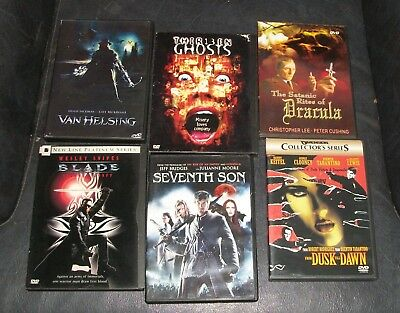 DVD MOVIE HORROR FILM LOT VAN HELSING 13 GHOST DRACULA 7 SON DUSK TIL DAWN BLADE](Film 13 Ghost)
