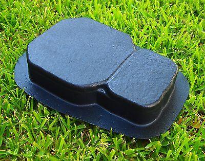 1 Paver Stone Keystone Plastic Mold Concrete Cement Patio Driveway 2 Thick