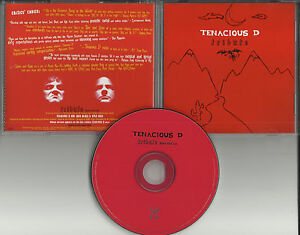 Jack-Black-TENACIOUS-D-Tribute-w-RARE-RADIO-EDIT-DJ-PROMO-CD-single-w-QUOTES