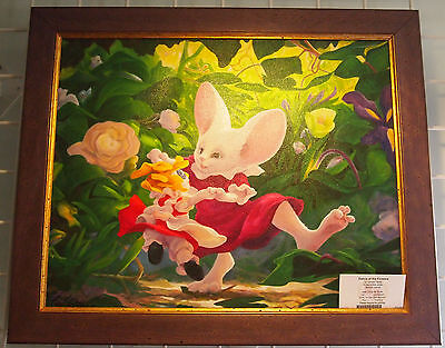Dance of the Flowers Rip Squeak Jesse Leonard Filgate Giclee Canvas Mouse Art