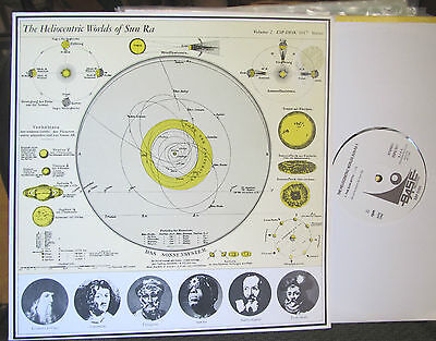 SUN RA the heliocentric worlds of VOLUME 2 RE LP esp base italy vinyl rare