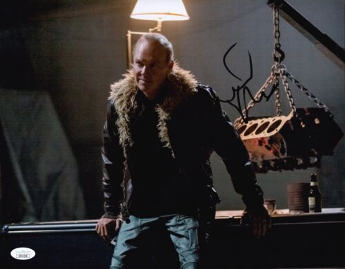 Michael Keaton Signed Spider-Man: Homecoming VULTURE 11x14 Autograph JSA COA