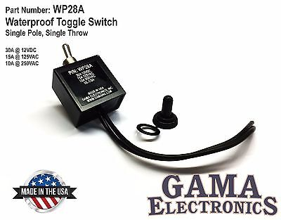 Waterproof On-off Toggle Switch - Wp28a