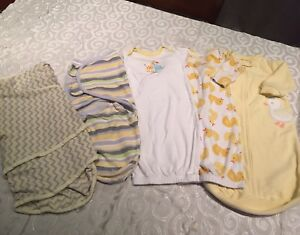 Swaddles and sleeping bags 0-3 months