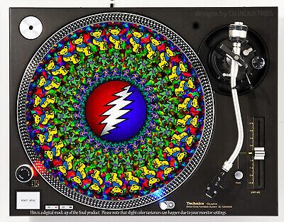 Slipmat Slip Mat Scratch Pad Felt for Any 12 LP DJ Vinyl Turntable Record Player Custom Graphical Donut