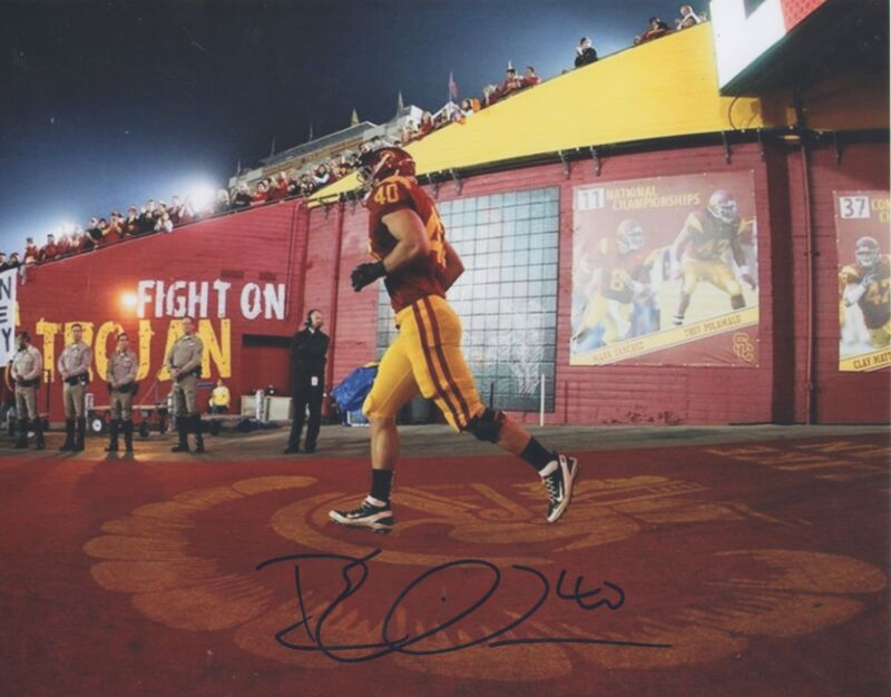 Rhett Ellison MN Minnesota Vikings USC Auto Signed 8x10 Photo COA GFA EE3 PROOF!