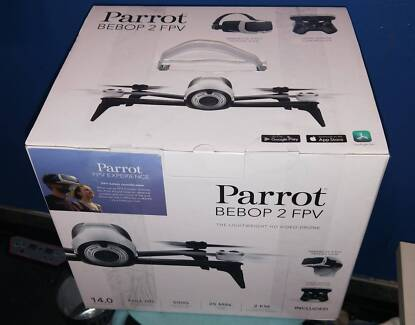 Parrot Bebop 2 FPV Bundle with Skycontroller 2 Drone