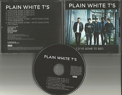 PLAIN WHITE T'S Should've Gone to bed w/ TOM & TIM Song Intro PROMO DJ CD - Intro Beds