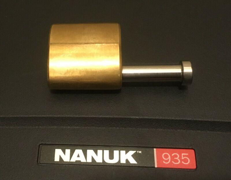 Nanuk Padlock - Wallis Brass Padlock for popular Nanuk Cases - 100% Made in USA