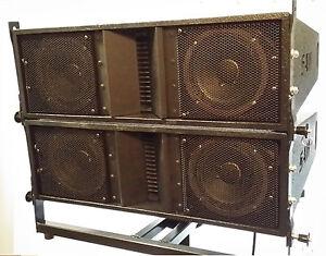Plans To Build La206 Dual 6 5 Line Array Speaker Cabinet Ebay