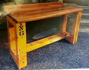 Vintage industrial Cafe Table made Bendigo Bendigo City Preview