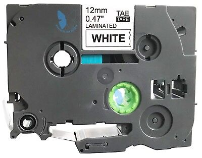 1 Compatible For Brother P-touch Tze Tze-231 Tz 231 Label Tape - 12mm Bkwhite