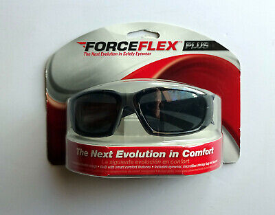 3m Forceflex Plus Safety Glasses Blackgray Nip