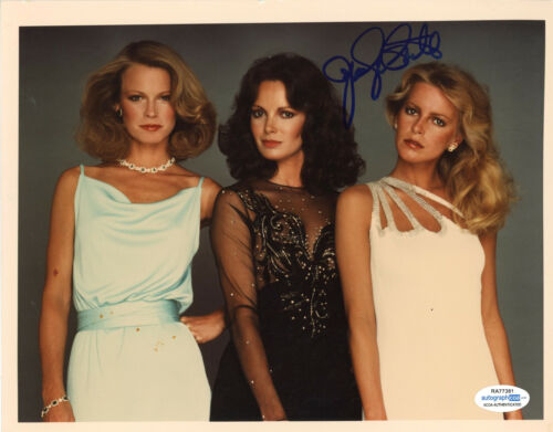 """Jaclyn Smith """"Charlie's Angels"""" AUTOGRAPH Signed 8x10 Photo ACOA"""