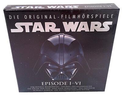 STAR WARS - Episode 1-6 - Die Original Film Hörspiele - 6 CD Box - NEU + OVP (Original Star Wars Filme)