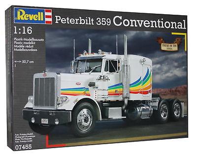 Revell Peterbilt 359 Conventional 1:16 Modellbausatz Bausatz LKW Modellbau