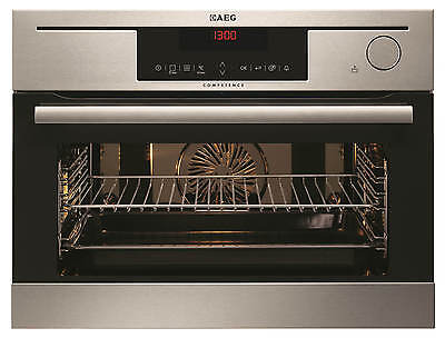AEG KS8404021M   ProCombi Built-in Compact Steam Oven in Stainless Steel
