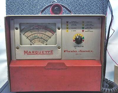 Vintage Marquette Porta-tuner Engine Analyzer Model T-200 Untested Antique Obo