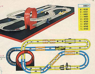 Faller AMS  -- Schienenmaterial für Komplettbahn mit Looping + Sprungschanze