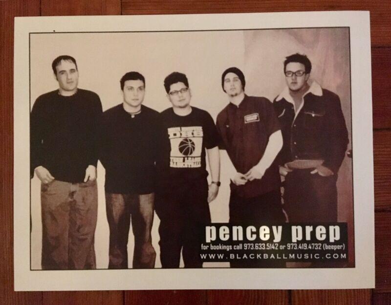 "Vintage Original Pencey Prep Press Publicity ""My Chemical Romance"" Frank Iero"