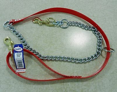 #34SCB / DAY-GLO CHAIN TREE LEAD / COLOR RED /  HUNTING -