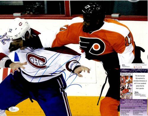 Wayne Simmonds Signed 11x14 Photo w/ JSA COA #R76375 Philadelphia Flyers
