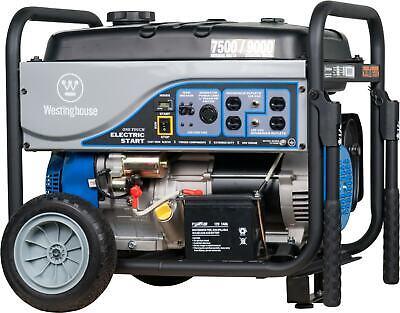 Refurbished Westinghouse Wh7500e Portable Generator