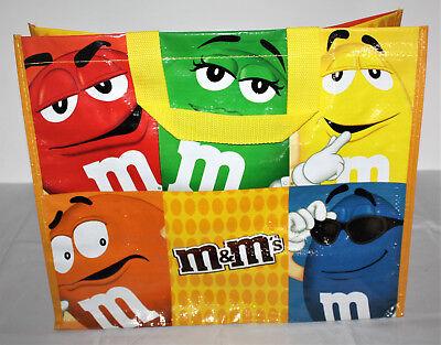 M&M M&M'S Shoppertasche Einkaufstasche groß mit Henkel Smarties Einkaufen NEU XL