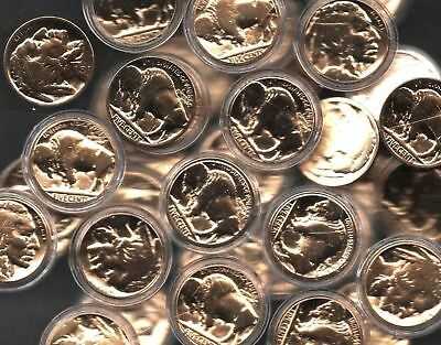 100% 24k Gold Plated Buffalo Nickel Indian Head Old US Collection Gift Coin Lot 24k Gold Coin Mint