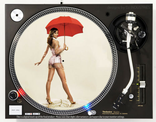 PINUP SUMMER GLAU - DJ SLIPMAT 1200