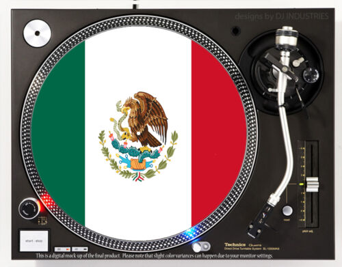 MEXICO FLAG - DJ SLIPMAT 1200
