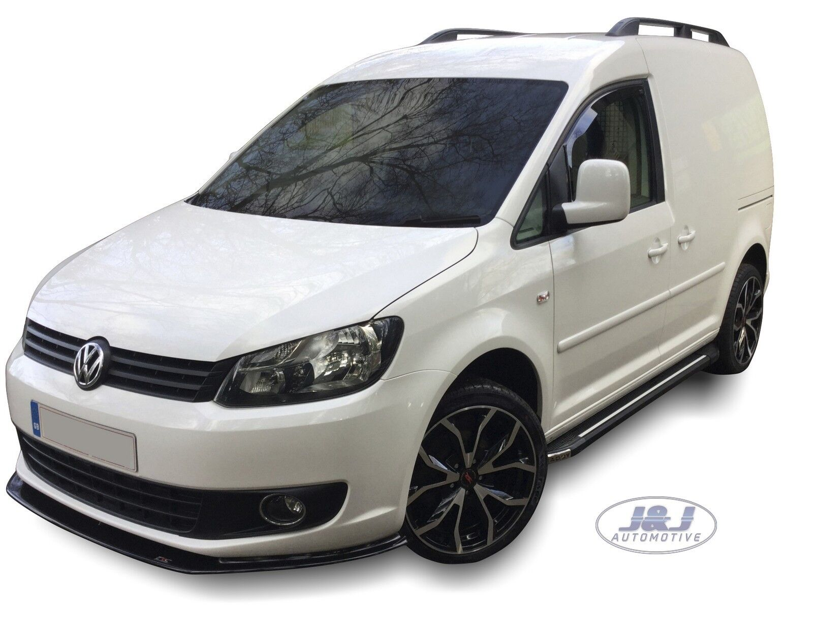 Details about VW Caddy 2004-2015 Front Wind Deflectors 2pc Set Internal Fit  TINTED HEKO
