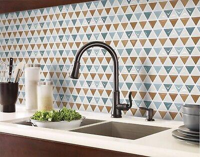 Bathroom Kitchen Wall Peel and Stick 2 Sticker Wallpaper Tile NAPT Backsplash