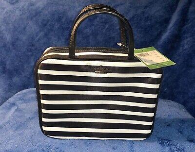 Kate Spade New York Cosmetic Large Bag Stripes $128