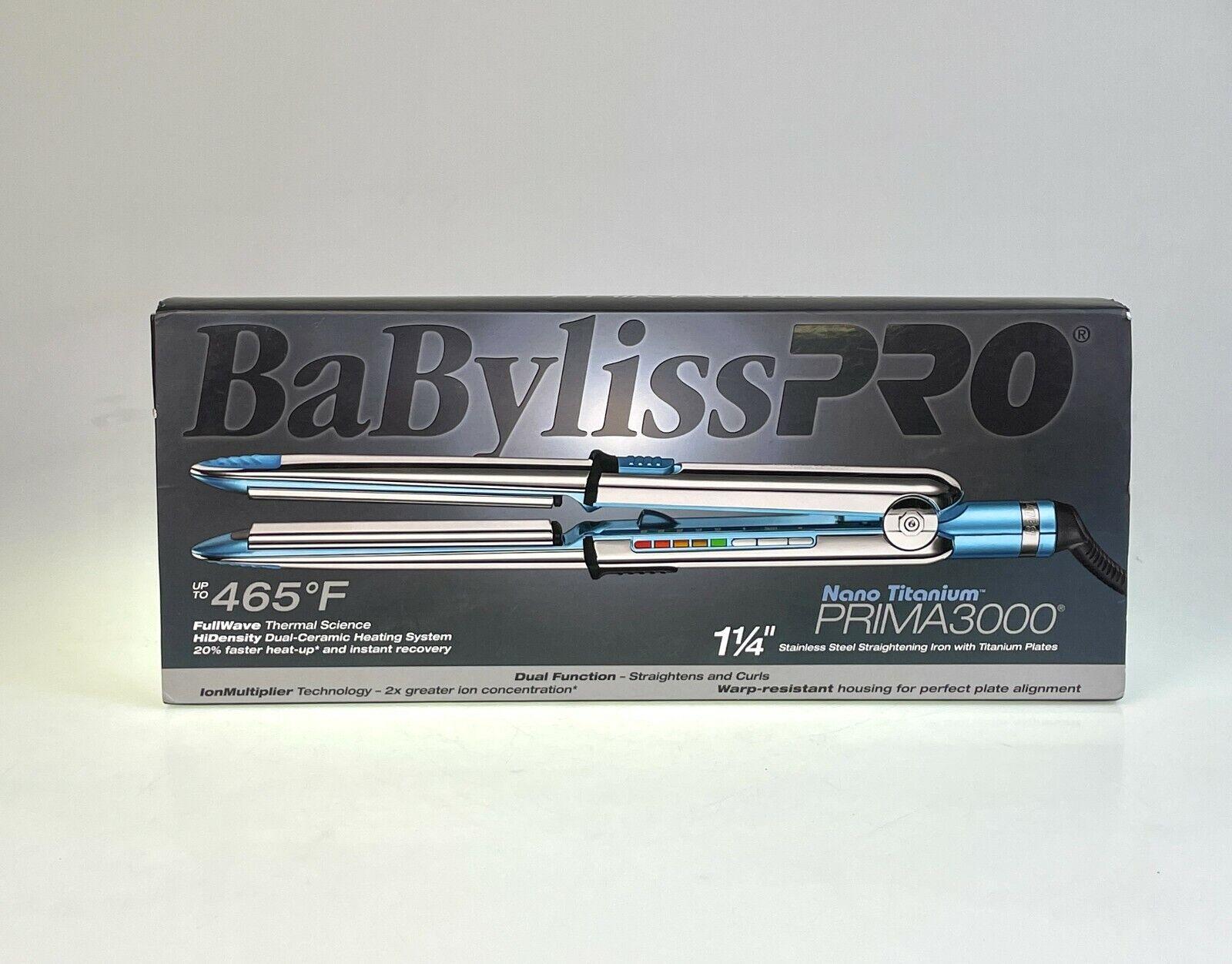 BaBylissPRO Nano Titanium Prima3000 1-1/4 NEW. 6132 - $99.99