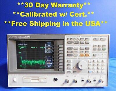 Agilent Hp Keysight 89410a Vector Signal Analyzer With W-cdm 10 Mhz Opt Ay9