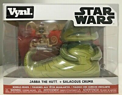 Funko Vynl Star Wars Jabba The Hutt & Salacious Crumb 2 Pack for sale  Shipping to Ireland