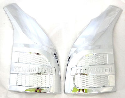 For Toyota Hiace Commuter 2011 2013 Chrome Lh Rh Side Front Corner Cover