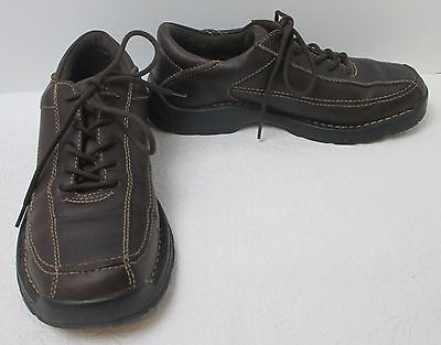 Presley Brown Leather - Men's GBX Presley2 Brown Leather Lace Up Oxford Shoes Sz 10.5 M