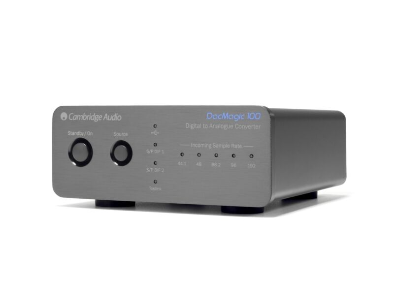Cambridge Audio DacMagic 100 Digital to Analogue Converter (Black)