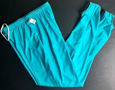 GK ELITE MENS LARGE GREEN GYMNASTICS COMPETITION NYLON STIRRUP PANTS AL
