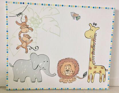 Jungle Nursery Canvas