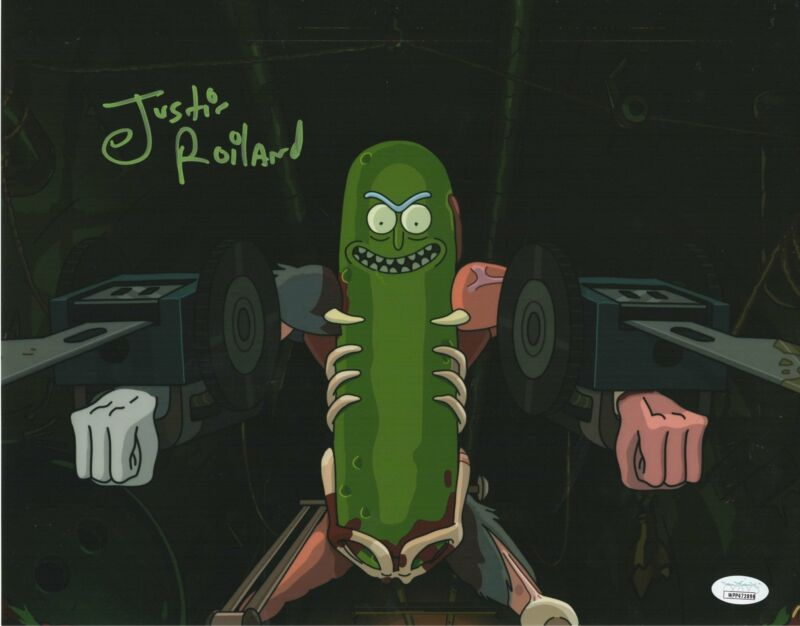 Justin Roiland Autograph 11x14 Photo Rick and Morty Co-Creator Signed JSA COA 5